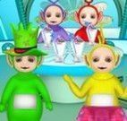 Teletubbies vestir e decorar