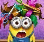 Jogos dos Minion no cabeleireiro
