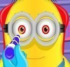 Minion no oftalmologista