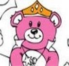 Pintar desenho do Teddy
