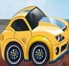 Corrida de mini carro