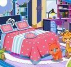 Decoração de quarto infantil de menina