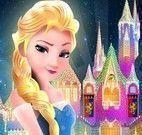 Quebra cabeça castelo da Elsa