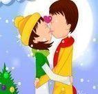 Beijar na neve