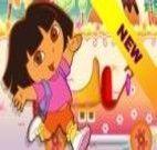 Dora transporte de doces