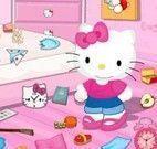 Hello Kitty arrumar quarto
