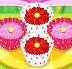 Receita de cupcakes das flores