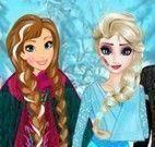 Cuidar dos machucados da Elsa e Anna