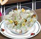 Receita de salada de batata da Sara