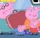 Família Peppa quebra cabeça