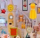 Achar objetos no quarto da princesa