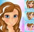 Maquiar Anna Frozen