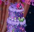 Decorar bolo de borboleta