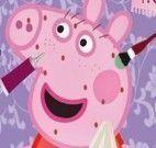 Tratamento facial da Peppa Pig