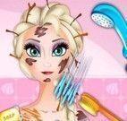 Elsa no banho