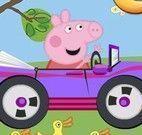 Peppa dirigir carrinho