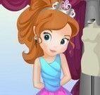 Princesa Sofia roupas do aniversário