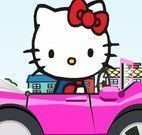 Hello Kitty dirigir carro
