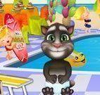 Decorar piscina do bebê Tom