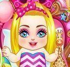 Barbie bebê cuidados