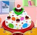 Receita de bolo enfeitar com doces