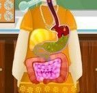 Cuidar da saúde da menina