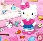 Hello Kitty faxina do quarto