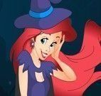 Vestir bruxinha princesa Ariel
