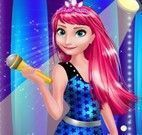 Anna e Elsa roupas do show