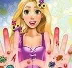 Cuidar das mãos da Rapunzel