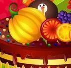 Decorar bolo Ação de Graças