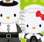 Decorar jantar da Hello Kitty