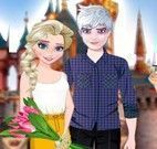 Elsa e namorado