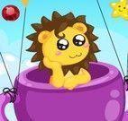 Leão no balão