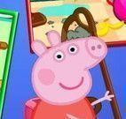 Limpeza cozinha da Peppa Pig