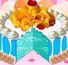 Receita de bolo azul