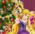 Árvore de natal Rapunzel decorar