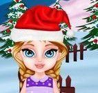 Construir casinha da Elsa bebê