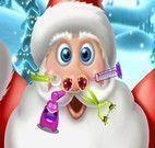 Cuidar do nariz do Papai Noel