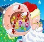 Cuidar do ouvido do Papai Noel