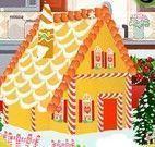 Decorar casinha de biscoito natal