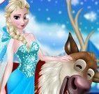 Elsa e Rudolph no spa