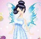 Fada princesa no spa