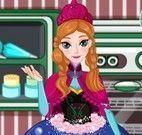 Fazer bolo da Anna Frozen
