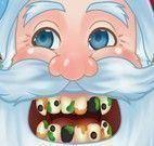 Papai Noel tratamento dos dentes