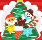 Preparar cookies decorado para natal