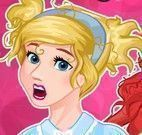 Vestir Cinderela e Ariel para escola