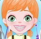 Anna bebê dentista