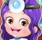 Bebê Hazel roupas de dentista