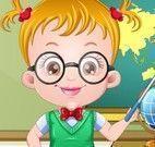 Bebê Hazel roupas de professora